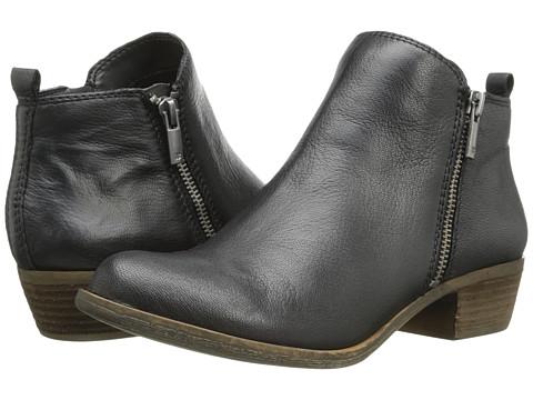 Lucky Brand - Basel (Black) Women's Zip Boots