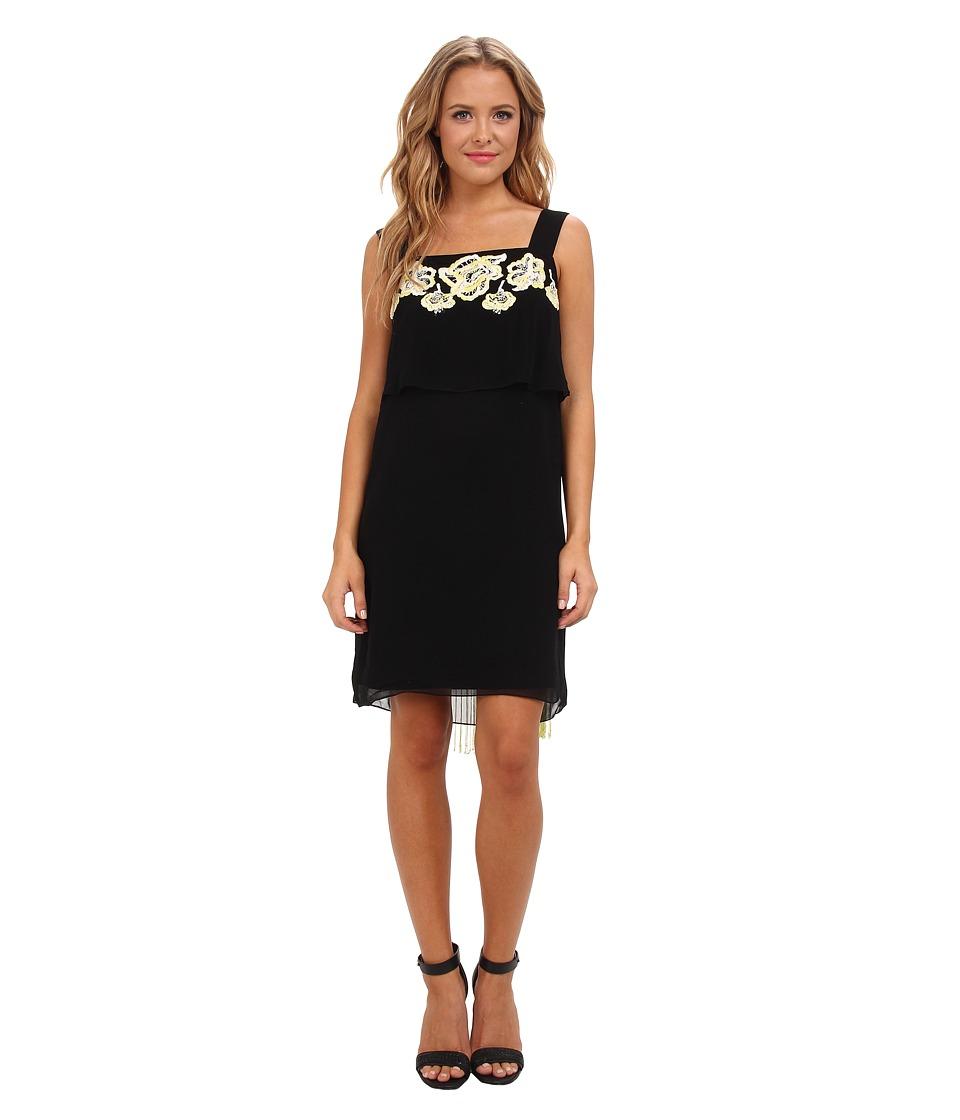 French Connection - Estelle Stitch 71BNG (Black) Women's Dress
