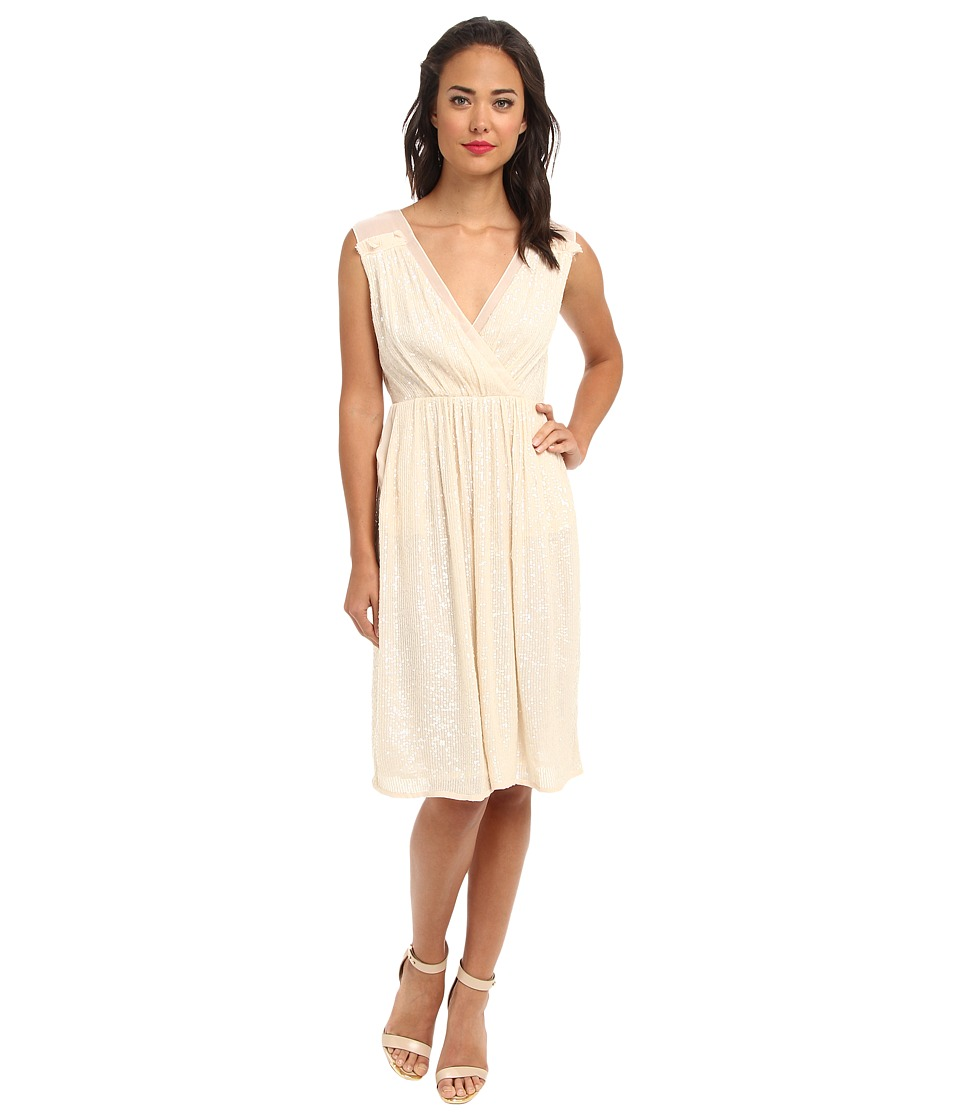 French Connection - Riviera Mist 71BPO (Sand) Women's Dress