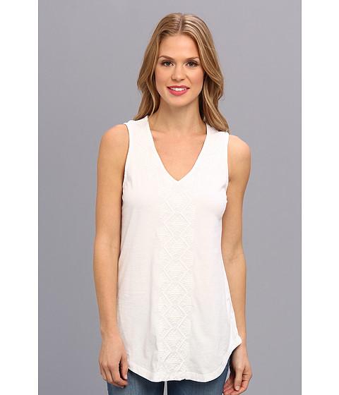 Mod-o-doc - Classic Jersey Embellished Tank (White) Women