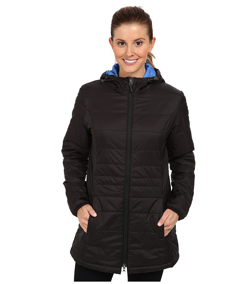 White Sierra - Puffy Peak Parka (Black) Women's Coat