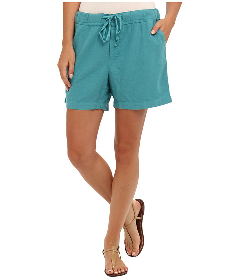 Mod-o-doc - Linen Rayon Drawstring Short (Mermaid) Women