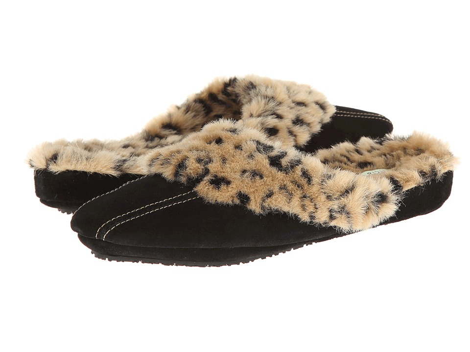 Patricia Green - Kenya (Black) Women's Slippers