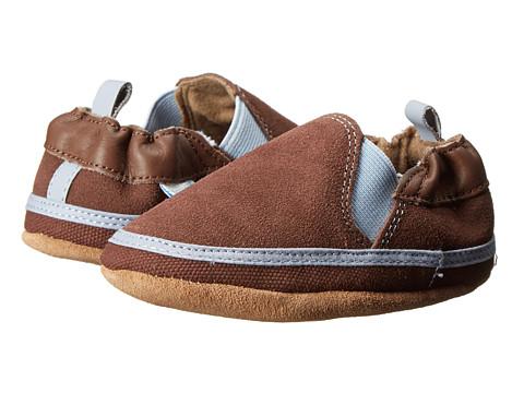 Robeez - Eli Soft Soles (Infant/Toddler) (Brown) Boys Shoes