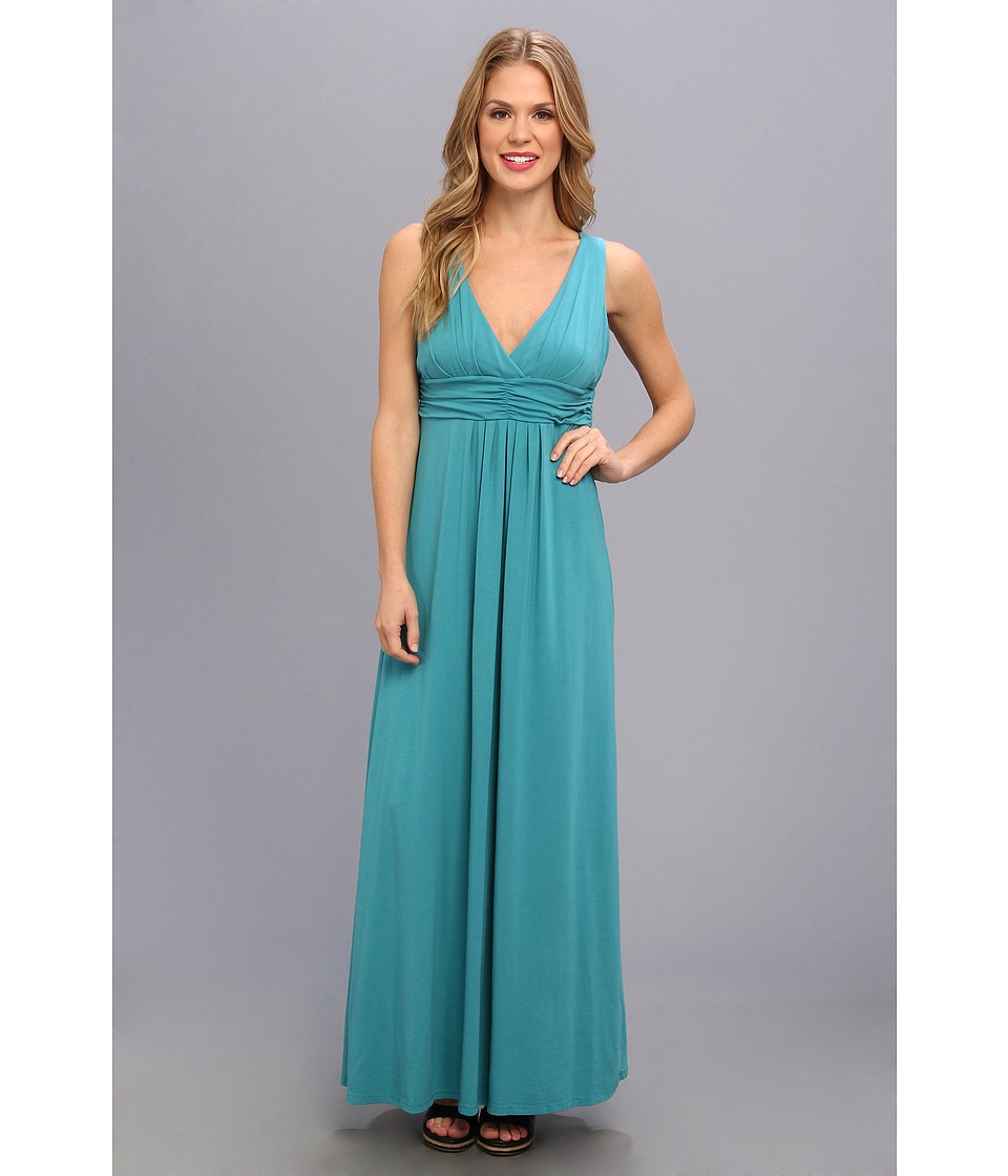 Mod-o-doc - Cotton Modal Maxi Dress (Mermaid) Women's Dress