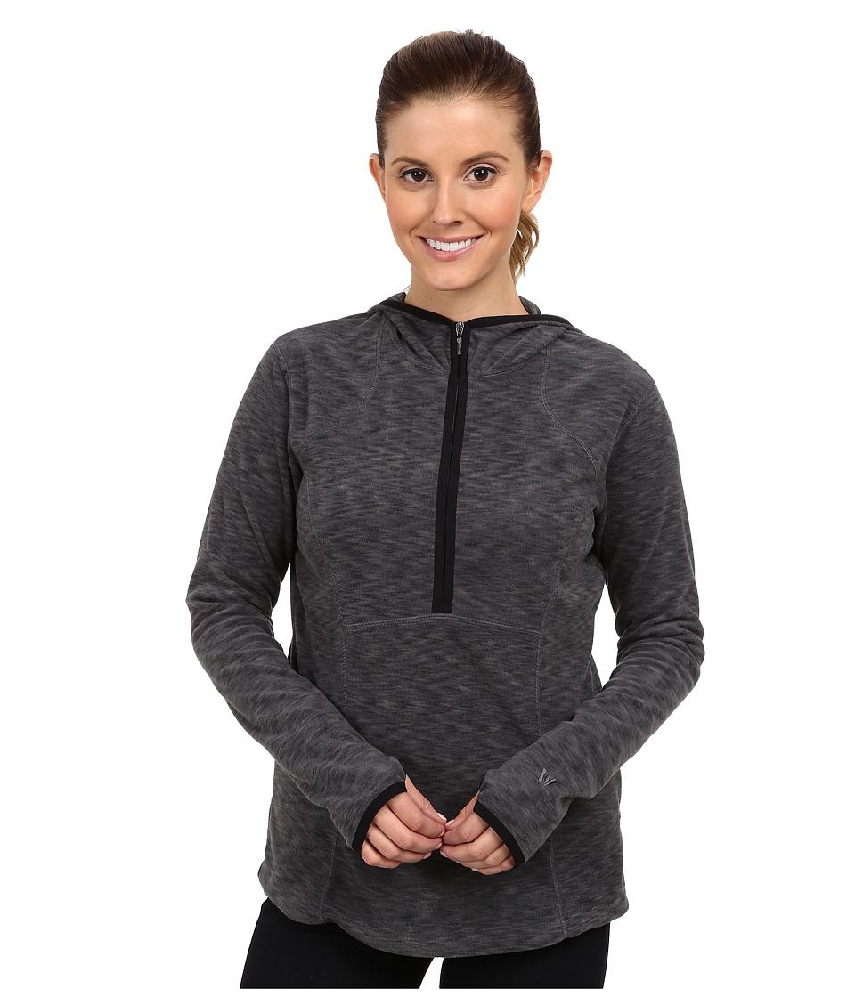 White Sierra - Rainbow Quarter Zip Hoody (Titanium) Women's Sweatshirt
