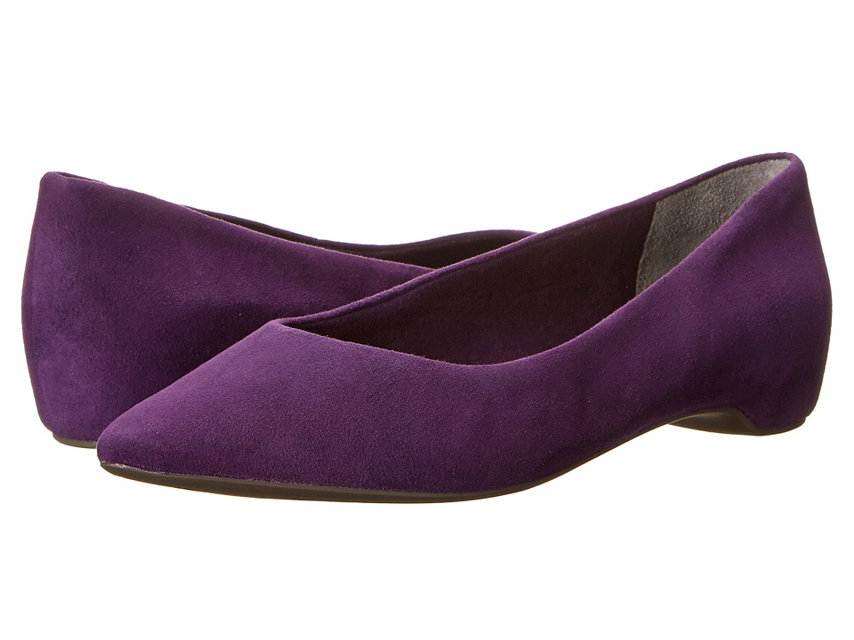 Rockport - Total Motion 20mm PT Plain Skimmer (Uva Suede/Purple) Women's Wedge Shoes
