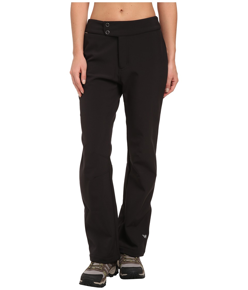 White Sierra - Full Moon Softshell Pant (Black) Women's Casual Pants