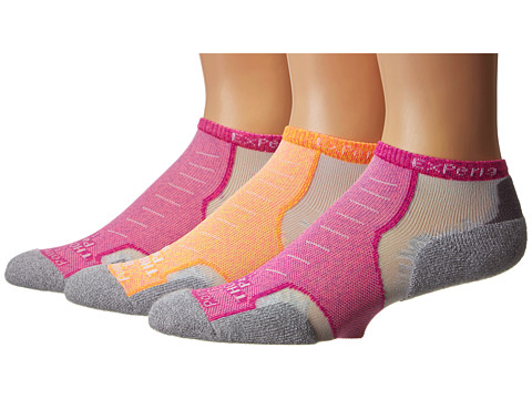 Thorlos - Experia Maui Micro Mini 3-Pack (Asst) Low Cut Socks Shoes