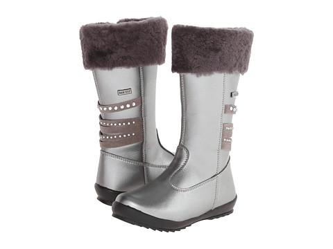 Naturino - Azalea FA14 (Little Kid/Big Kid) (Silver) Girls Shoes