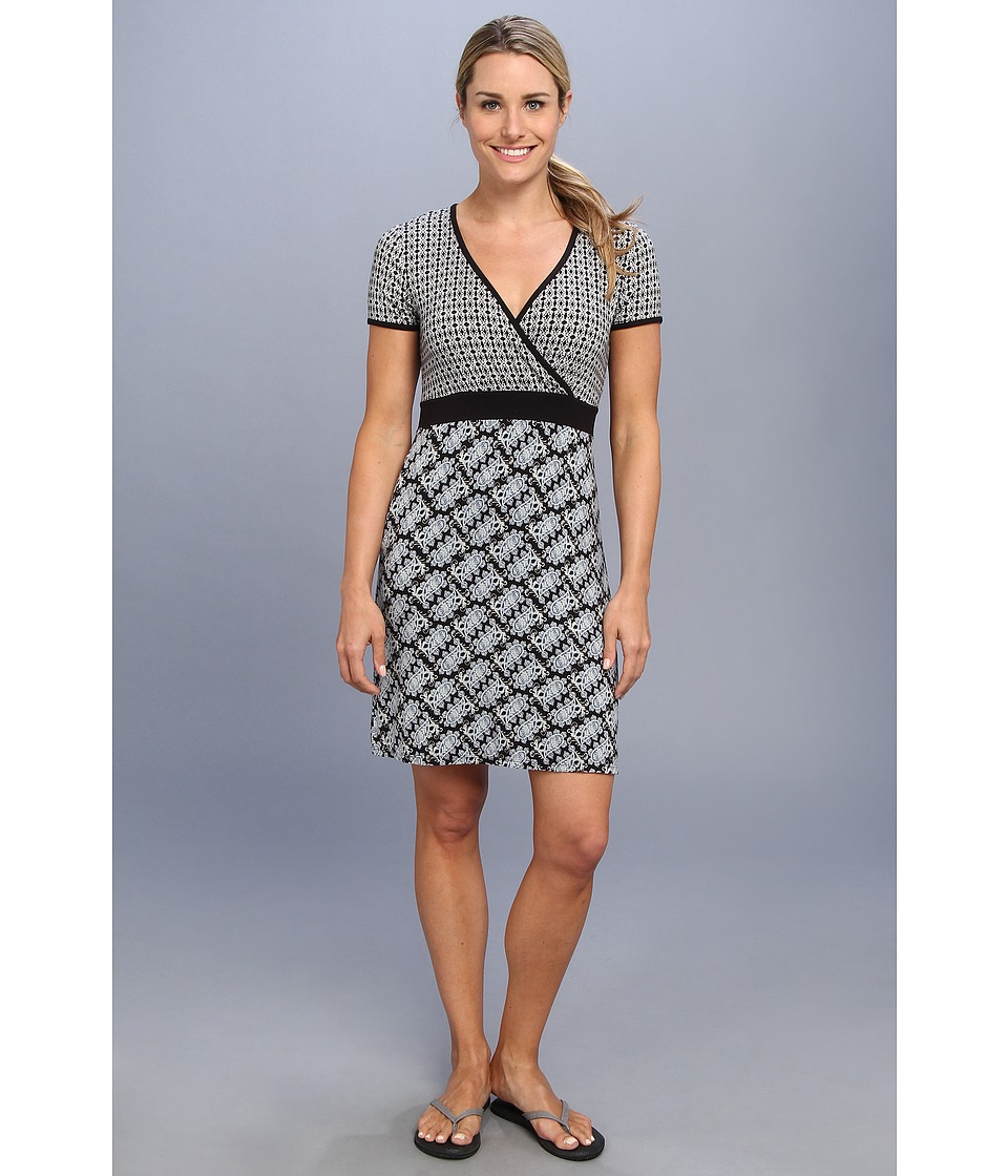 White Sierra - Discover Dailey Dress (Black Combo) Women