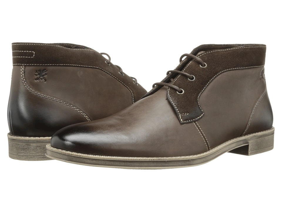 Stacy Adams - Cagney (Brown Hand Burnished Leather) Men's Plain Toe Shoes
