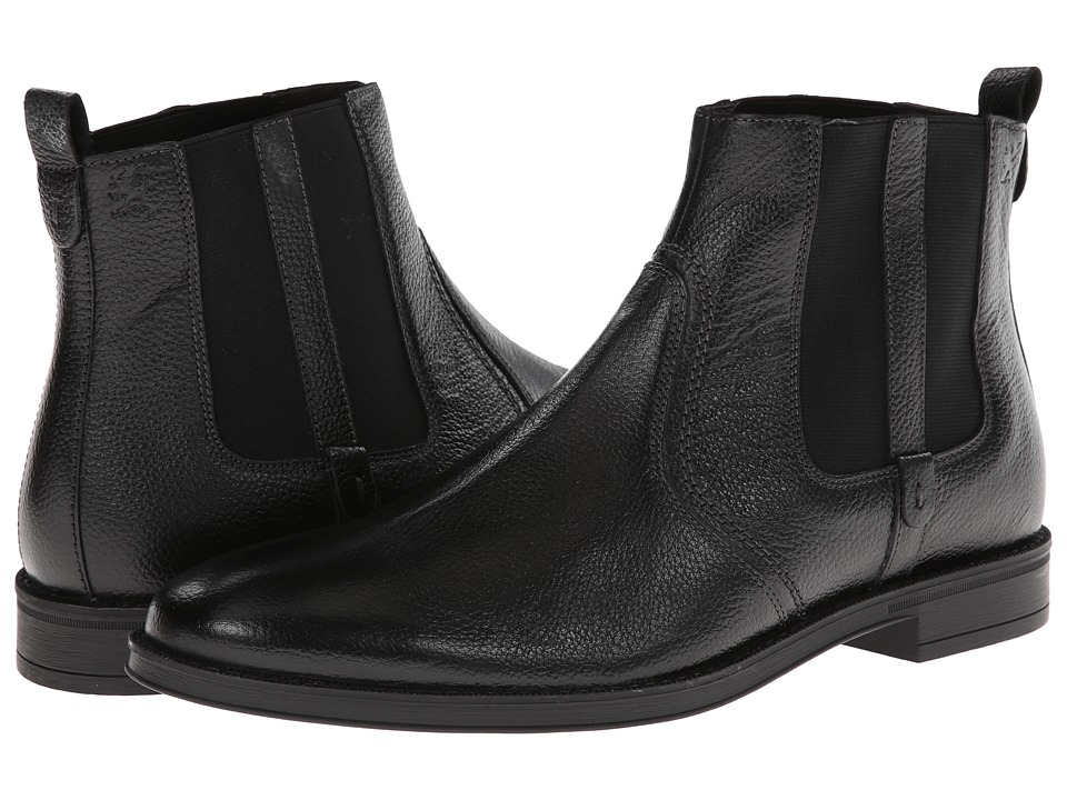 Stacy Adams - Carnaby (Black Hand Burnished Milled Leather) Men