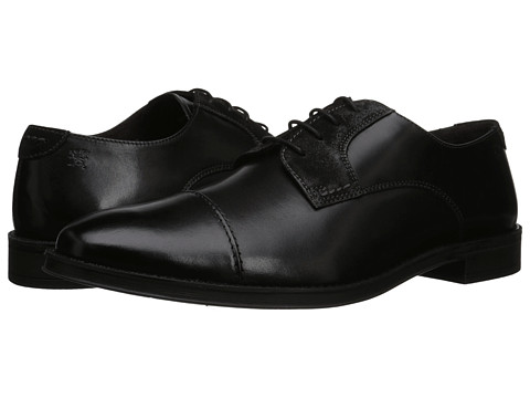 Stacy Adams - Caldwell (Black Hand Burnished Leather) Men's Lace Up Cap Toe Shoes