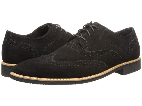 Stacy Adams - Sloane (Black Suede) Men