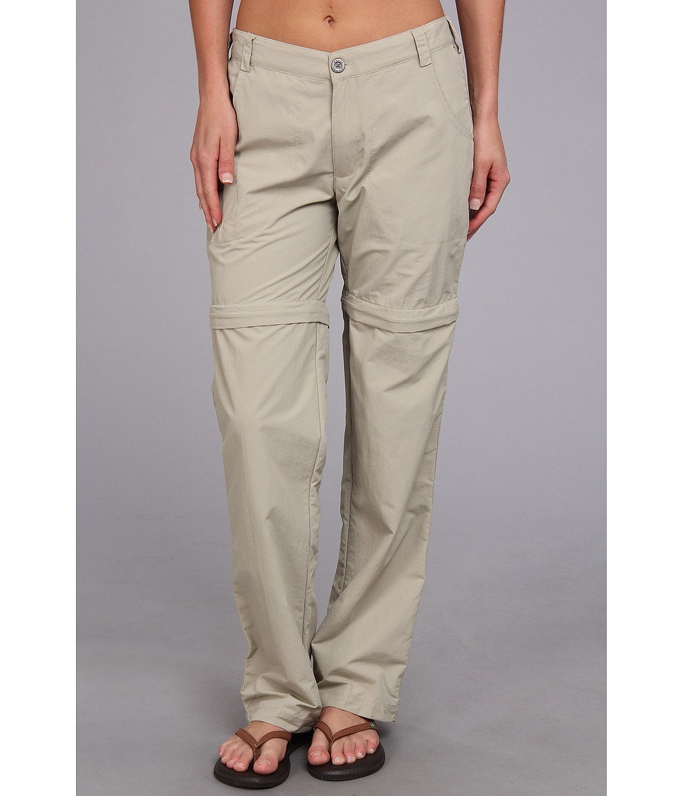 White Sierra - Sierra Point Convertible Pant (Stone) Women's Casual Pants