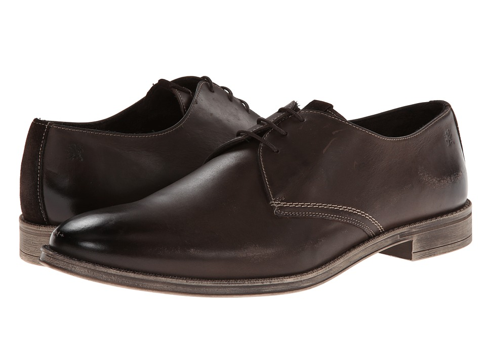 Stacy Adams - Calum (Brown Hand Burnished Leather) Men's Plain Toe Shoes