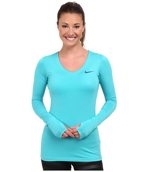 c51407ce UPC 885259191354 product image for Nike Pro Long-Sleeve (Dusty Cactus/Space  Blue ...