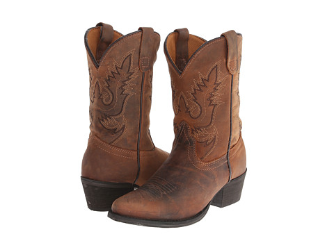 Dan Post Kids - Renegade (Toddler/Little Kid) (Dark Brown) Cowboy Boots