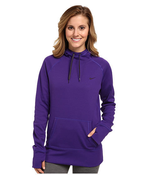 Nike - All Time Hoody FA14 (Court Purple/Cave Purple) Women's Sweatshirt