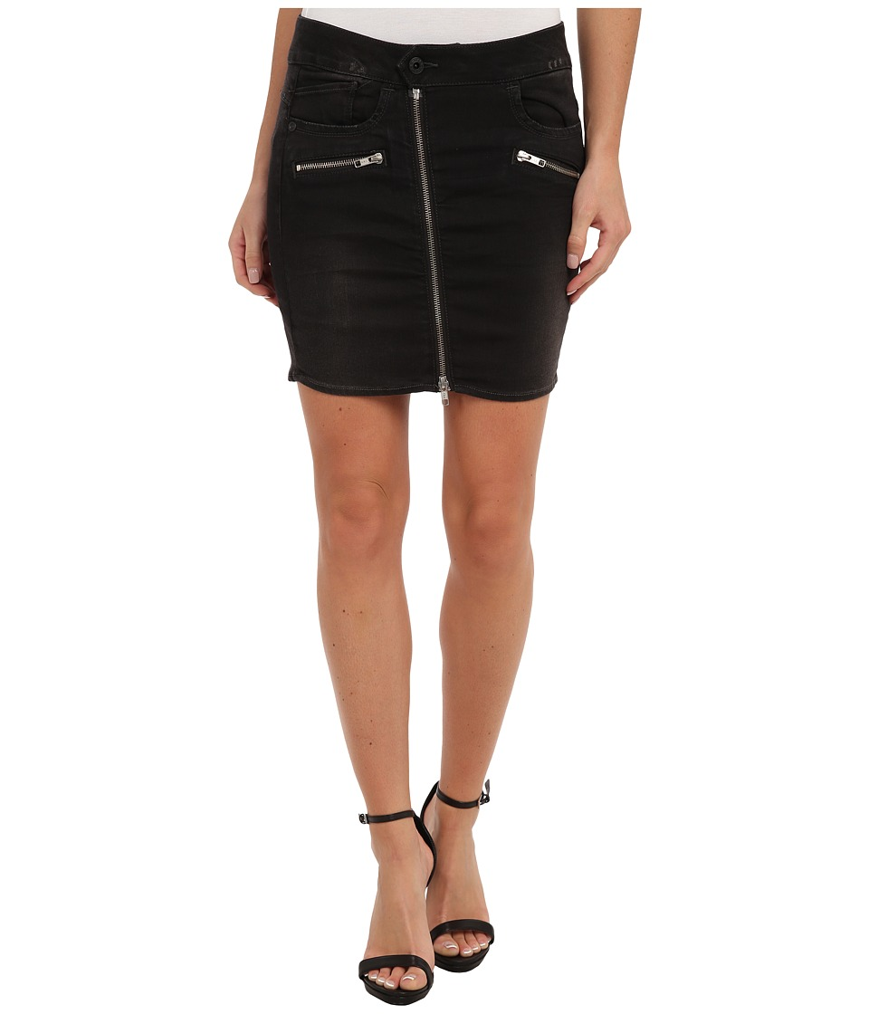 G-Star - Lynn Zip Long Mini Skirt (3D Dark Aged) Women's Skirt