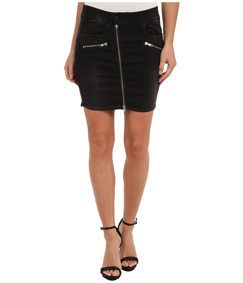 G-Star - Lynn Zip Long Mini Skirt (3D Dark Aged) Women