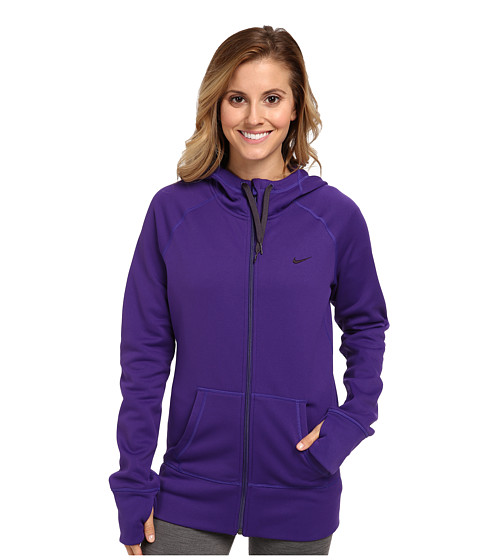 Nike - All Time Full Zip Hoodie (Court Purple/Cave Purple) Women
