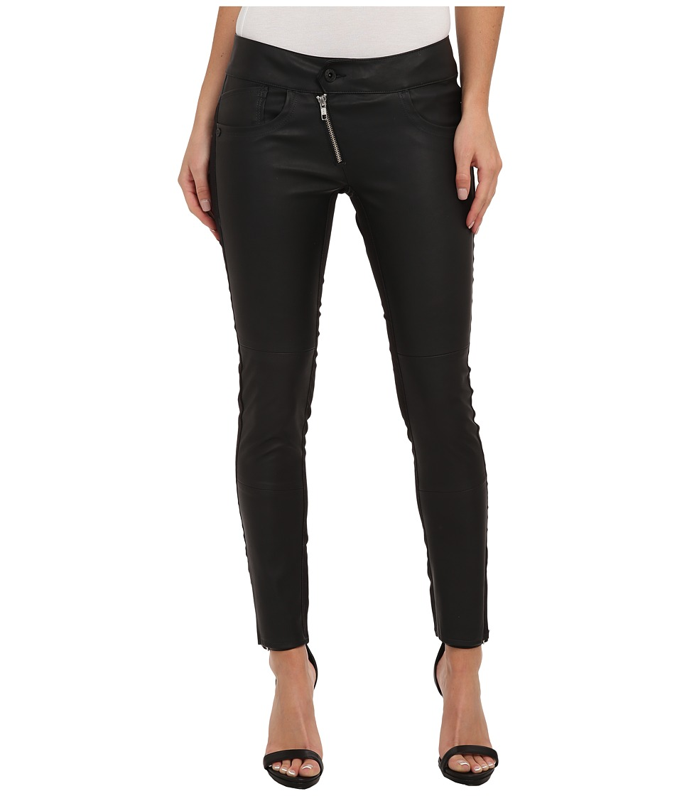 G-Star - Lynn PL Zip Ankle in Comfort Ocean Black (Black) Women's Casual Pants