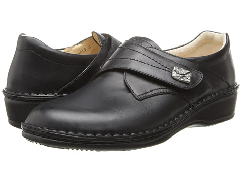 Finn Comfort - Aurora-S (Black Nappa Leather) Women's Shoes