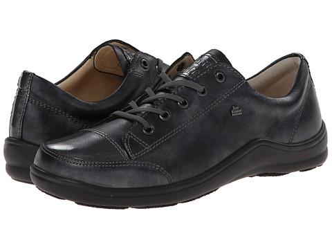 Finn Comfort - Soho-S (Negro/Stone Oxide/Patent) Women's Shoes