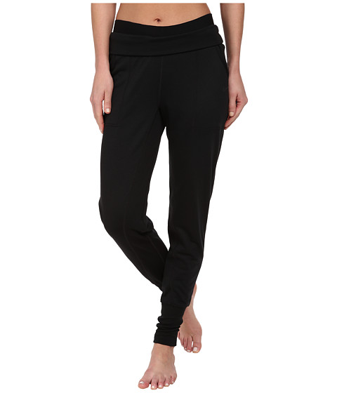 Nike - Obsessed French Terry Pant (Black Heather/Black/Black) Women