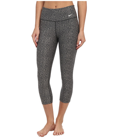 Nike - Legend 2.0 Mezzo Tight Capri (Light Ash/Dark Ash/Ivory) Women