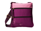 Life is good Color Block Crossbody Bag