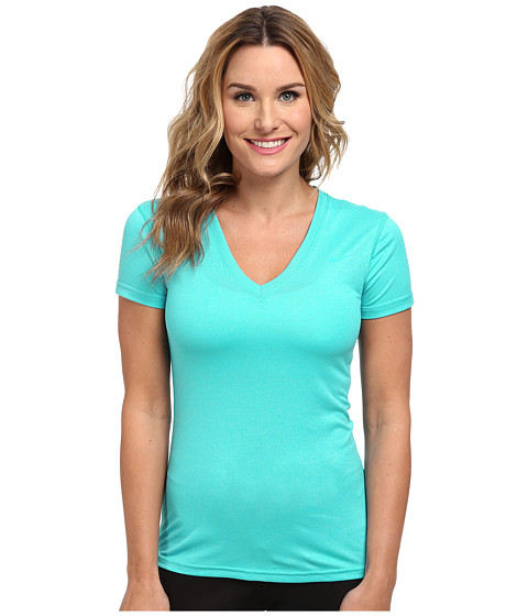 Nike - Regular Legend Short-Sleeve V-Neck (Dusty Cactus/Dusty Cactus) Women