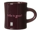 Life is good Diner Mug (Deepest Plum)