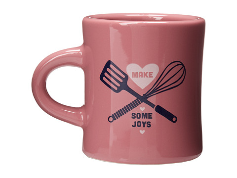 Life is good - Diner Mug (Washed Plum) Individual Pieces Cookware