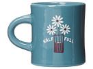 Life is good Diner Mug (Turquoise Blue)