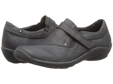 Wolky - Louise (Black Cowgate) Women's Slip on Shoes