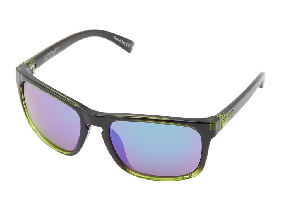 VonZipper - Lomax (Black Lime/Quasar Glo) Sport Sunglasses