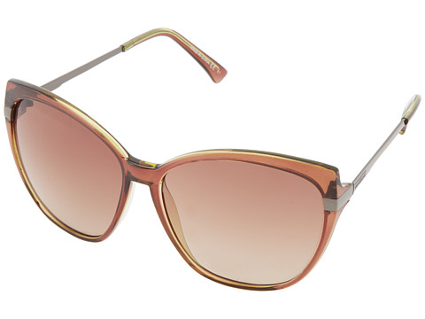 VonZipper - Begonia (Brown) Metal Frame Fashion Sunglasses