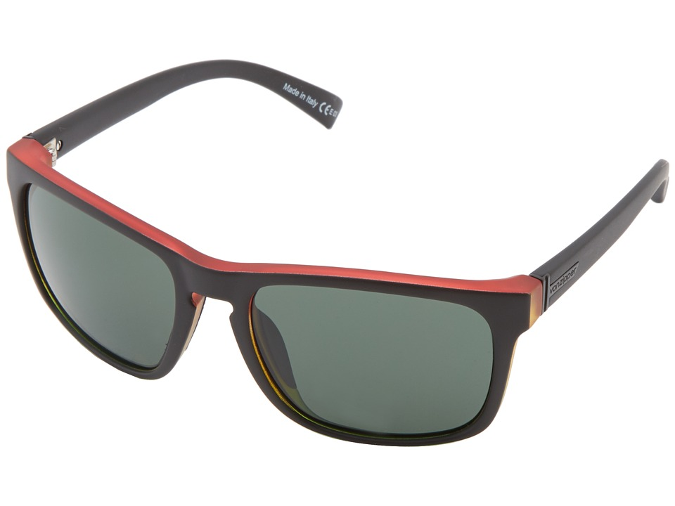 VonZipper - Lomax (Vibrations Satin/Grey) Sport Sunglasses