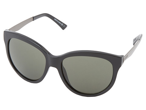 VonZipper - Cheeks (Black/Vintage Grey) Sport Sunglasses