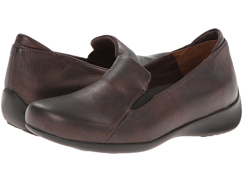Wolky - Perls (Copper Trevino Leather) Women's Slip on Shoes