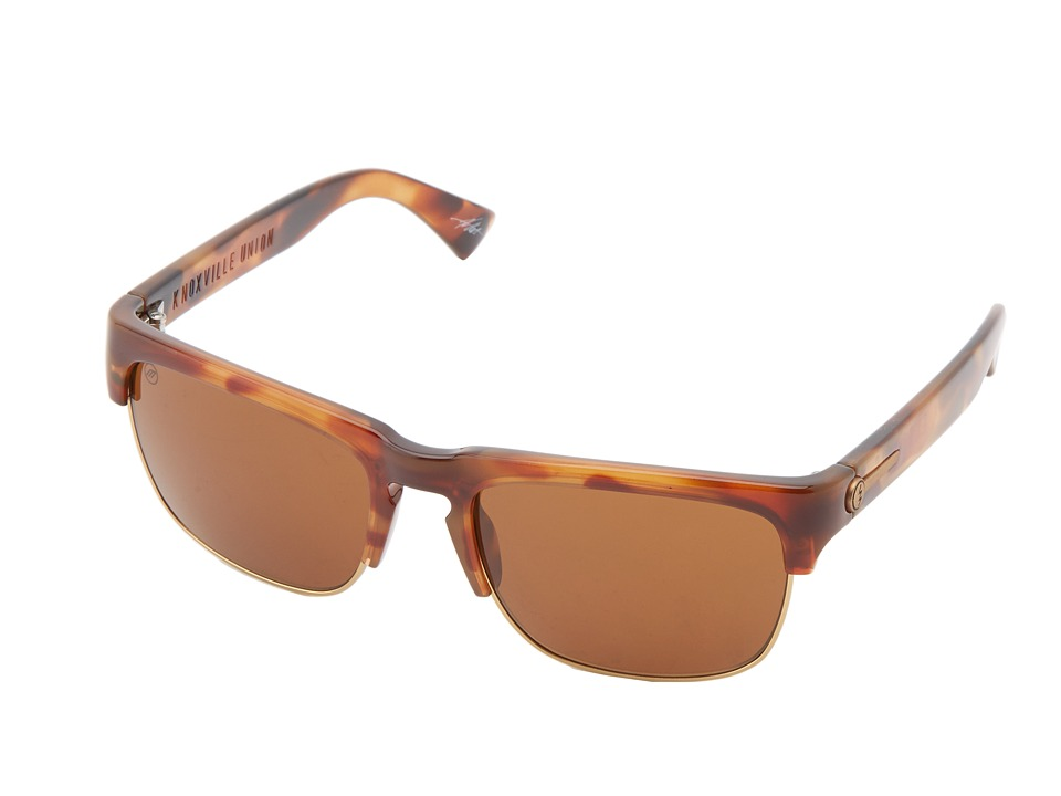 Electric Eyewear - Knoxville Union (Vintage Tort/M Bronze) Sport Sunglasses
