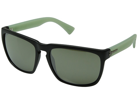 Electric Eyewear - Knoxville XL (M Transistor Green/M Grey Silver) Sport Sunglasses