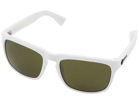 Electric Eyewear - Knoxville (Gloss White/M Grey) Sport Sunglasses