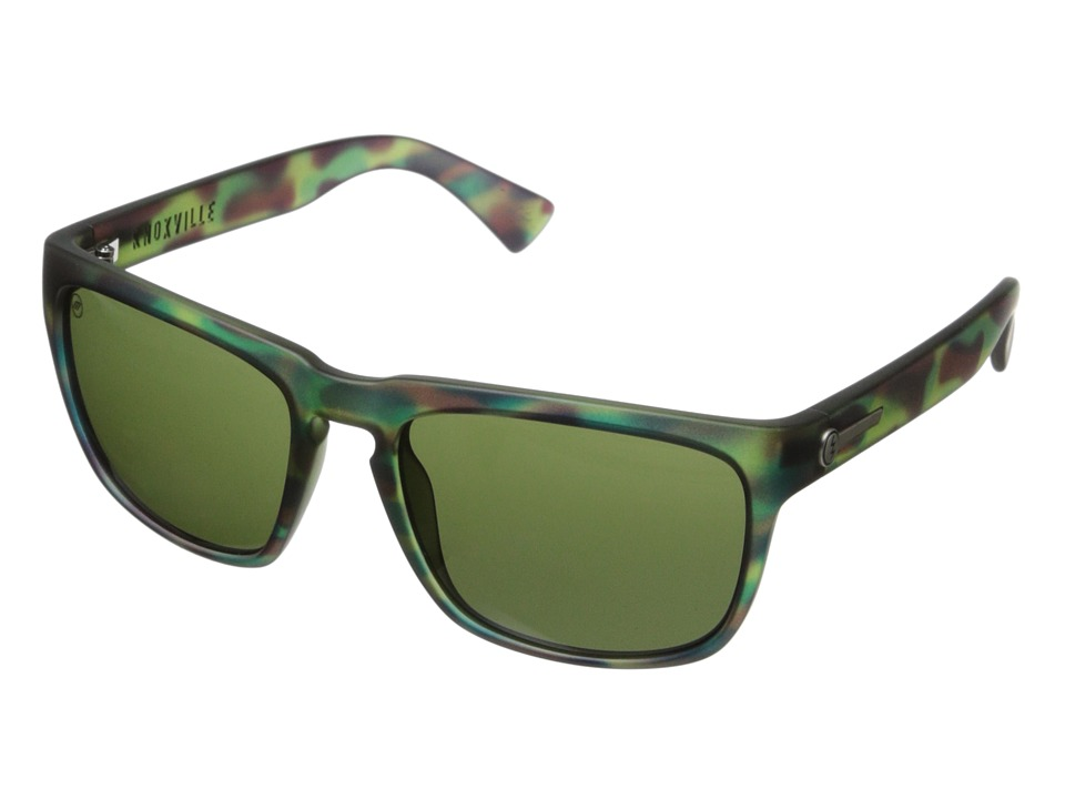 Electric Eyewear - Knoxville (Mason Tiger/M Grey) Sport Sunglasses