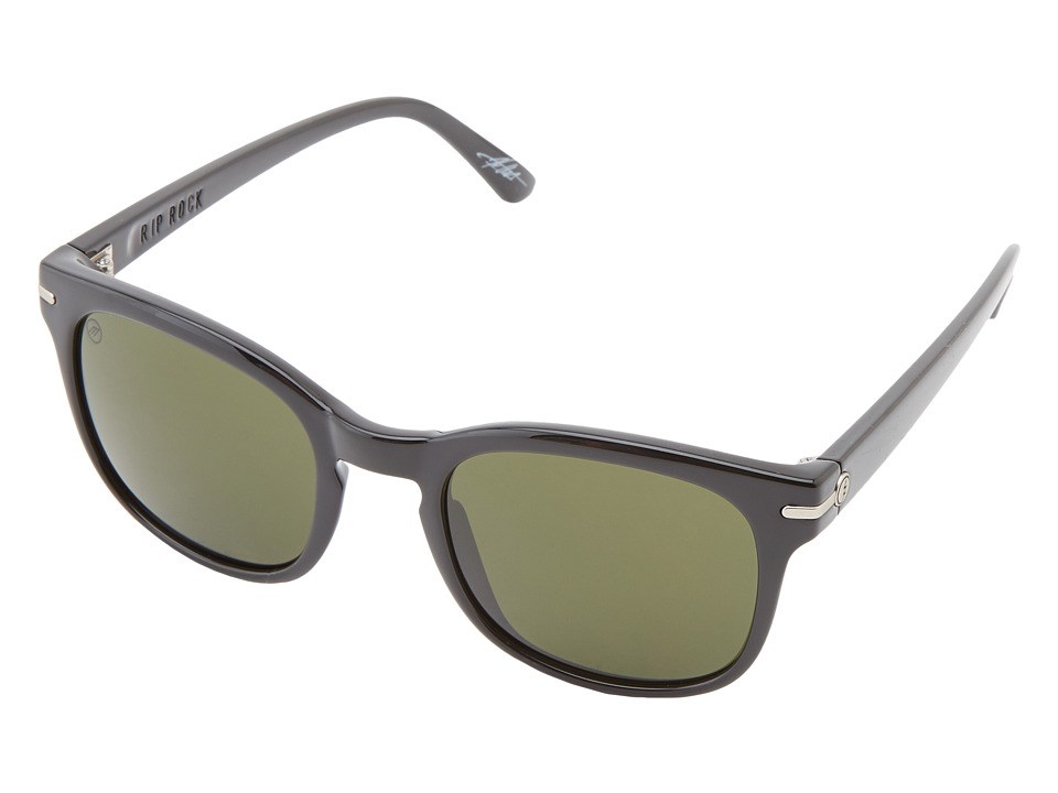 Electric Eyewear - Rip Rock (Gloss Black/M Grey) Sport Sunglasses