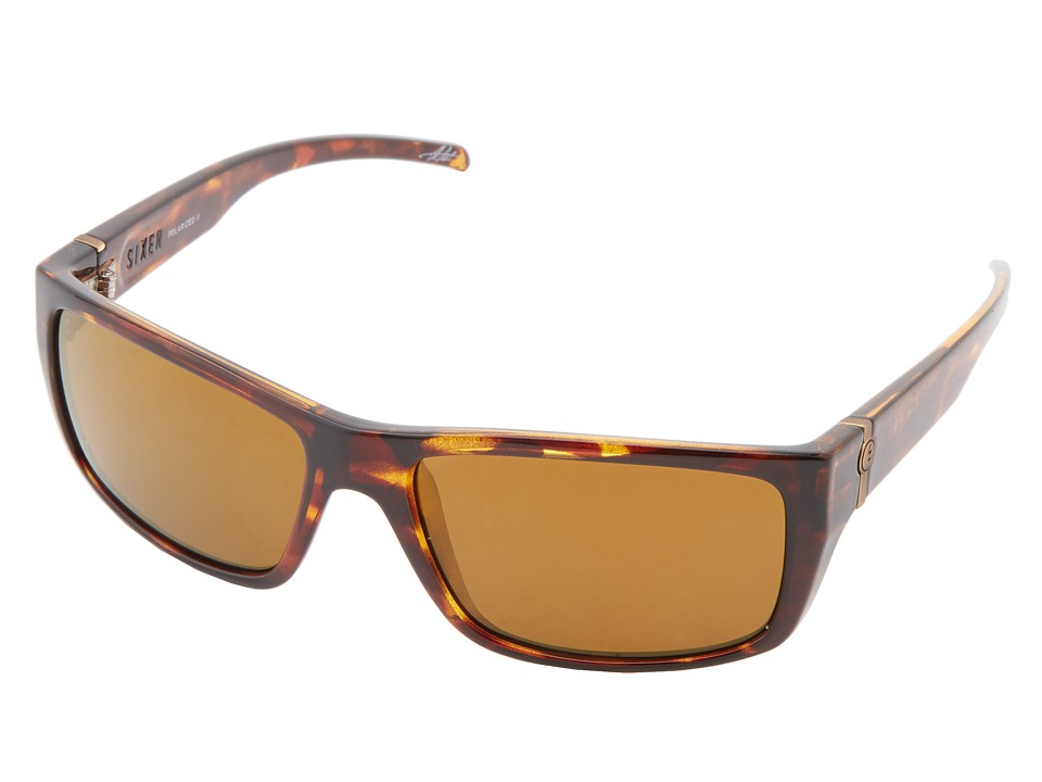 Electric Eyewear - Sixer (Tortoise Shell/M2 Bronze Polar) Sport Sunglasses