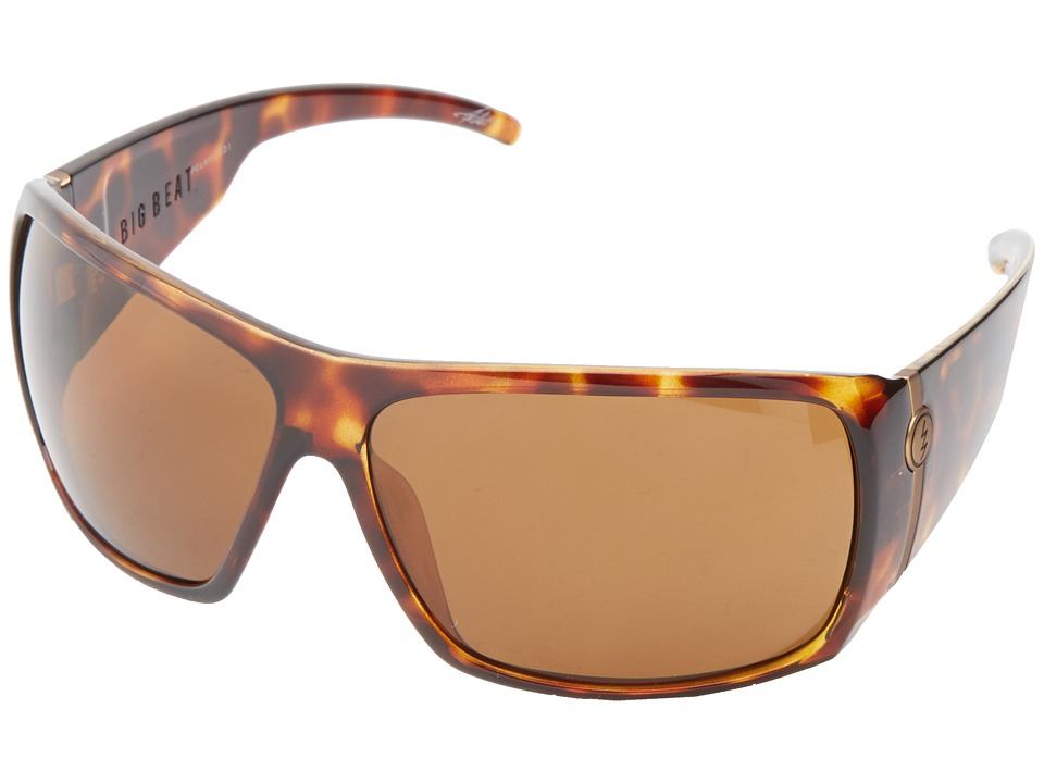 Electric Eyewear - Big Beat (Tortoise Shell/M1 Bronze Polar) Plastic Frame Sport Sunglasses